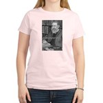 Cosmology: Mach's Principle Women's Pink T-Shirt