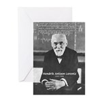 Nobel Prize Physics Lorentz Greeting Cards (Packag
