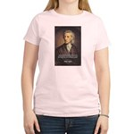 Change and John Locke Women's Pink T-Shirt