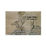 Lao Tzu: Being One Rectangle Magnet (100 pack)
