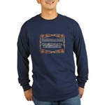 Enforce The Rules Long Sleeve Dark T-Shirt