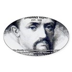 Kepler Scientific Revolution Oval Sticker