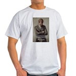 Man / War John F. Kennedy Ash Grey T-Shirt
