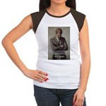 Man / War John F. Kennedy Women's Cap Sleeve T-Shi