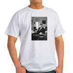 Humanist John F. Kennedy Ash Grey T-Shirt
