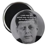 "Power of the Idea JFK 2.25"" Magnet (10 pack)"