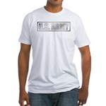 Metalic U.S. Army Fitted T-Shirt