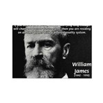 Pragmatic William James Rectangle Magnet (10 pack)