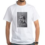 Thomas Huxley and Darwin White T-Shirt