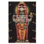 Diversity from Unity: Brahman Large Poster