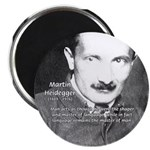 "Man / Language: Heidegger 2.25"" Magnet (100 pack)"