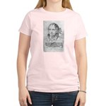 History Lessons Georg Hegel Women's Pink T-Shirt