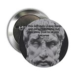 "Epicurus Self Control 2.25"" Button (10 pack)"
