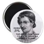 "Freedom of Thought Bruno 2.25"" Magnet (100 pack)"