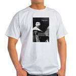 Philosopher Francis Bacon Ash Grey T-Shirt