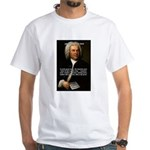 Composer J.S. Bach White T-Shirt