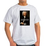 Glory God Music J. S. Bach Ash Grey T-Shirt