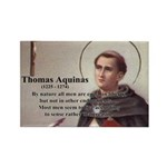 Theology Thomas Aquinas Rectangle Magnet (100 pack