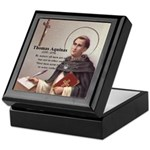 Theology Thomas Aquinas Keepsake Box