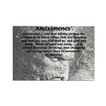 Anaximenes Air Philosophy Rectangle Magnet (100 pa