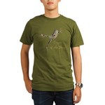 Dance of the Frog Organic Men's T-Shirt (dark)