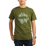 Do It Froggy Style Organic Men's T-Shirt (dark)