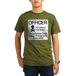 Compliance Officer Organic Men's T-Shirt (dark)