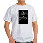 Sir Winston Churchill Ash Grey T-Shirt