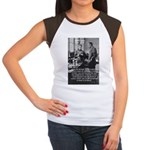 Marie Curie Physics Liberty Women's Cap Sleeve T-S