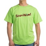 Obama ScamWow! Green T-Shirt