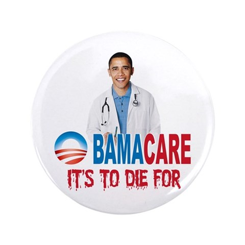 "Anti Obama 3.5"" Button"