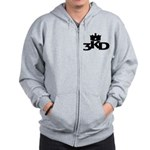 3 Kings Day Zip Hoodie