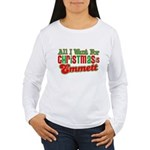 Christmas Emmett Women's Long Sleeve T-Shirt