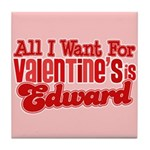Edward Valentine Tile Coaster