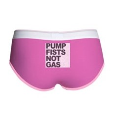 Pump Fists Not Gas Womens Boy Brief