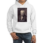Immanuel Kant Reason Hooded Sweatshirt