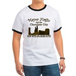 Nagin's Chocolate City (w/nuts) Ringer T