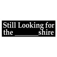 still looking for the blank shire Jane Austen bumper sticker