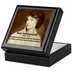 Philosophical Feminism Keepsake Box