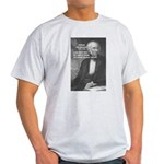 Nature Wordsworth Poetry Ash Grey T-Shirt