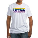 "Anti Liberal Hippies ""Stoned"" Fitted T-Shirt"
