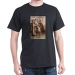 Julius Caesar Pictures Quotes Black T-Shirt