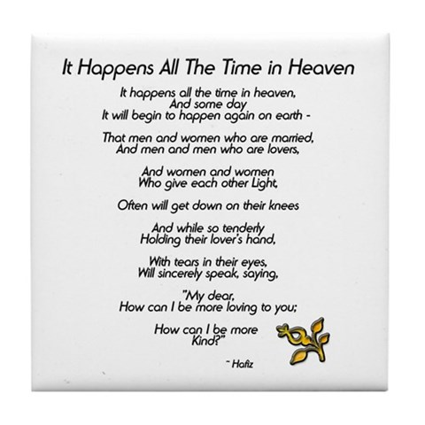 CafePress > Coasters > It Happens All The Time Tile Coaster. It Happens All The Time Tile Coaster
