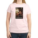 Leonardo da Vinci Quote Women's Pink T-Shirt
