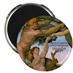 "Sistine Chapel Adam & Eve 2.25"" Magnet (100 pack)"