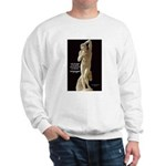 Michelangelo Angel in Sculpture Sweatshirt