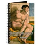 Michelangelo Nude Painting Journal