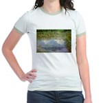 Monet Painting: Beauty Quote Jr. Ringer T-Shirt