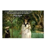 Berthe Morisot Art Quote Postcards (Package of 8)