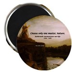 "Rembrandt Painting & Quote 2.25"" Magnet (100 pack)"